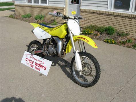 suzuki motocross bikes for sale 2006 suzuki rm85 dirt bike for sale on 2040 motos