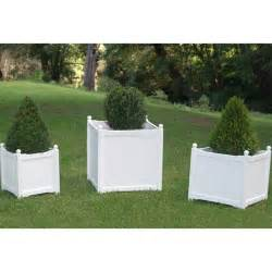wooden planter box white small choosy