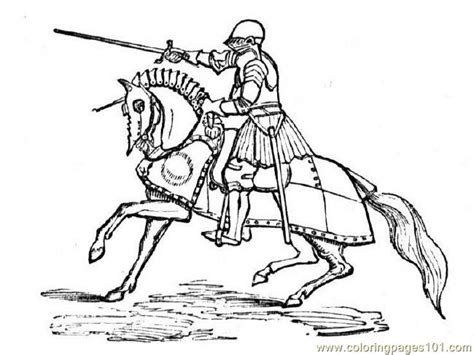 printable pictures knight on horseback coloring pages knightonhorse peoples gt knights free
