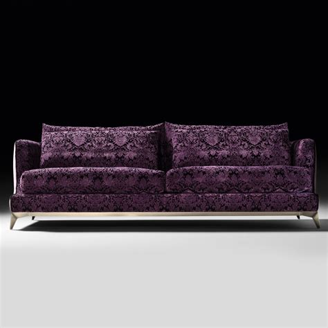 Velvet Modern Sofa with Velvet Luxury Modern Sofa