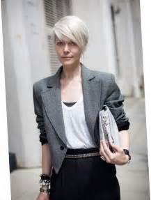 coiffure courte asymetrique femme les tendances mode du