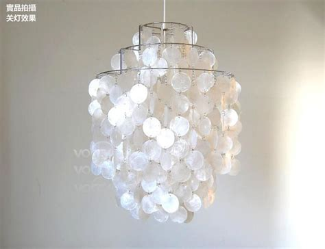 Popular White Shell Chandelier Buy Cheap White Shell White Shell Chandelier