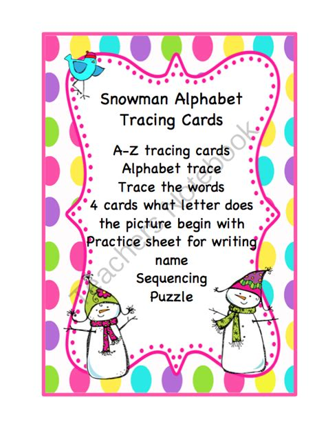 printable tracing alphabet cards snowman alphabet tracing cards preschool printables