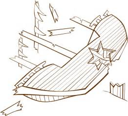 Shipwreck Clip Art At Clkercom  Vector Online Royalty Free sketch template