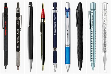 9 Of My Favorite Mechanical Pencils by 9 Best Mechanical Pencils Gear Patrol