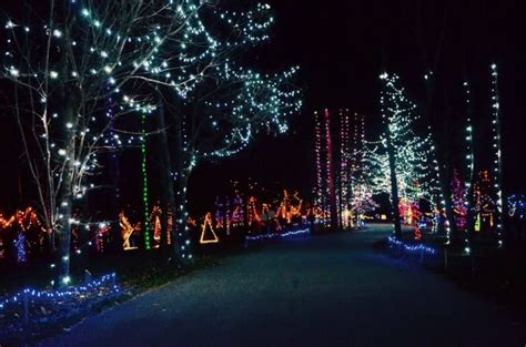 15 best christmas light displays in ohio 2016
