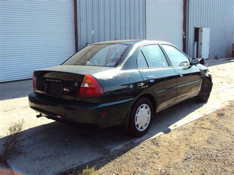 1999 mitsubishi mirage 4 door sedan model 1 8l at fwd