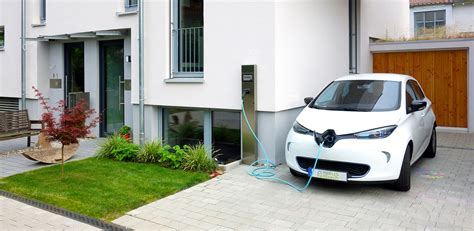home charging station solar vehicle charging at home
