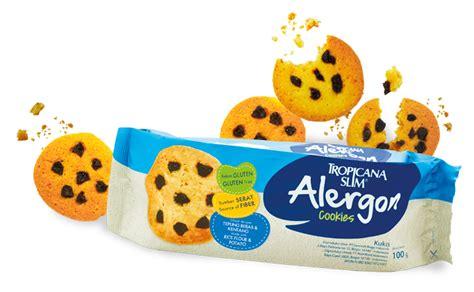 Alergon Cookies by Tropicana Slim Alergon Cookies Bebas Gluten