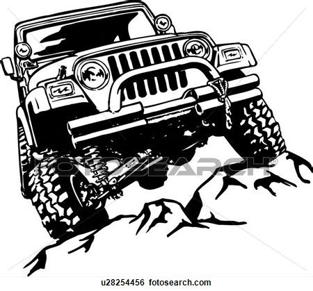 jeep clipart road cliparts