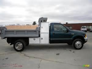 1999 ford f550 duty xl regular cab 4x4 dump truck in