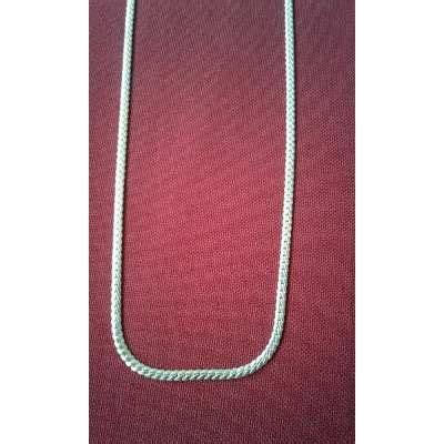 largo de cadenas para hombre cadena lomo corvina plata para hombre o mujer largo 60 cm