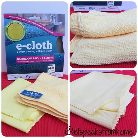e cloth bathroom pack e cloth review et speaks from home