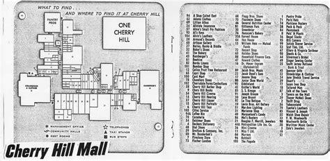 Create A Floor Plan App cherry hill mall map from brochure flickr photo sharing