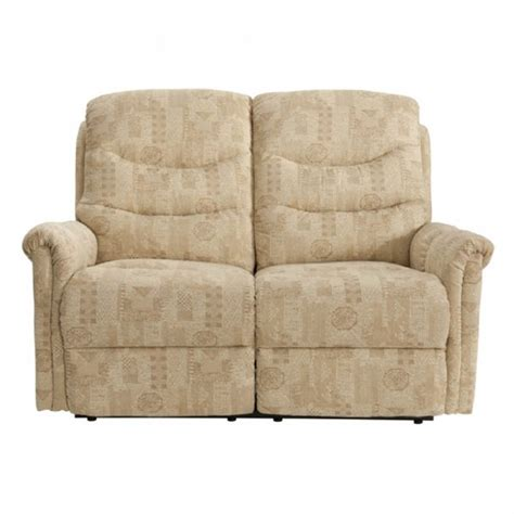 lazboy boston 2 seater fabric power recliner sofa at the