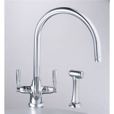 franke faucets kitchen franke triflow contemporary series kitchen faucets buy