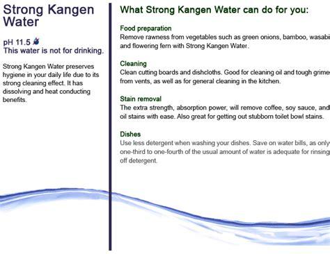 Strong Kangen Water Ph 11 5 strong kagen water ph 11 5 ph 11 0 kangen water 174 network