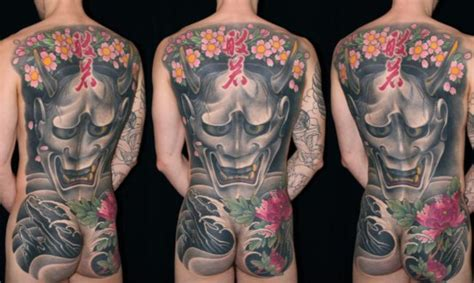 hannya mask tattoo back piece 1000 images about asian tattoo design on pinterest