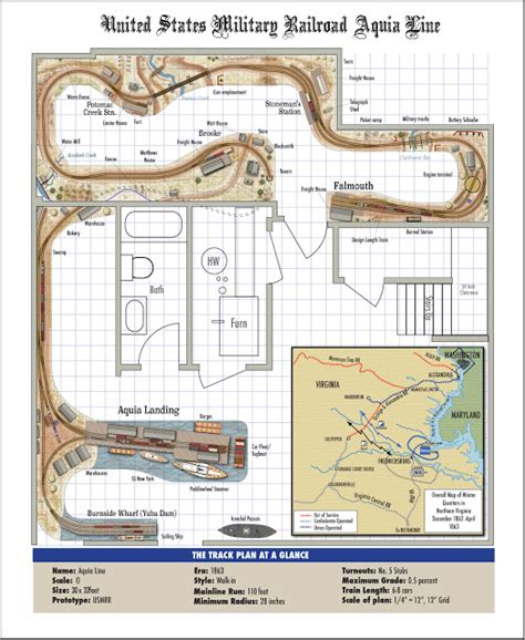 layout plan updated usmrr aquia line and other model railroad adventures