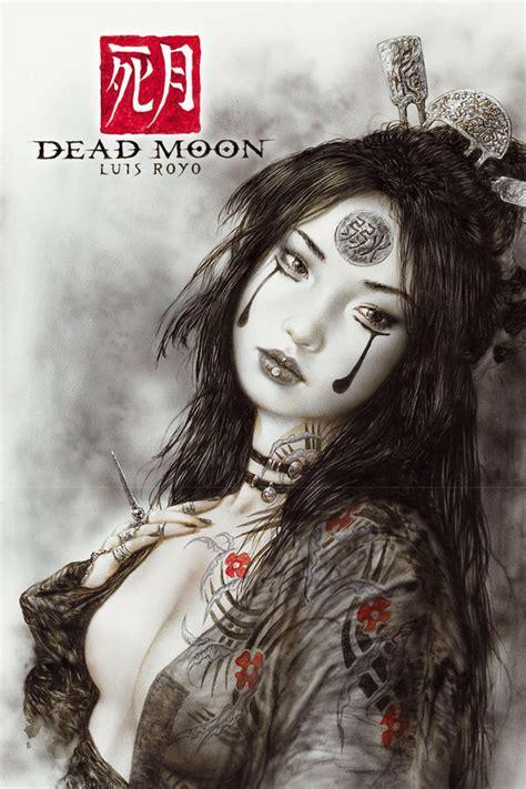 libro dead moon luis royo presenta su 250 ltima obra dead moon en video comics juegos es tu web de videojuegos