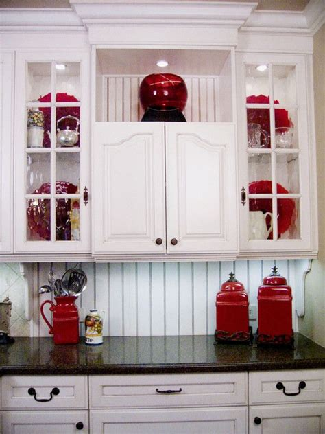 Kitchen Decorating Ideas With Red Accents | pin by robbye housley on red thats al i can say