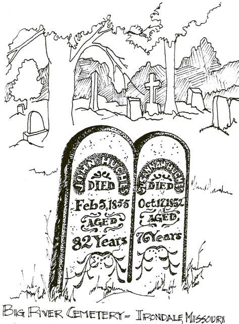 john susahhan hughes grave stone