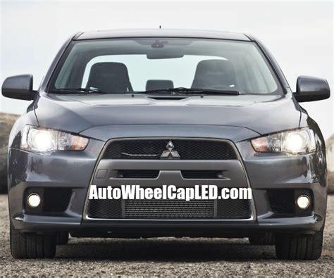 Emblem Mitsubishi Chrome Medium Mitsubishi Lancer Evolution Front Grille Badge