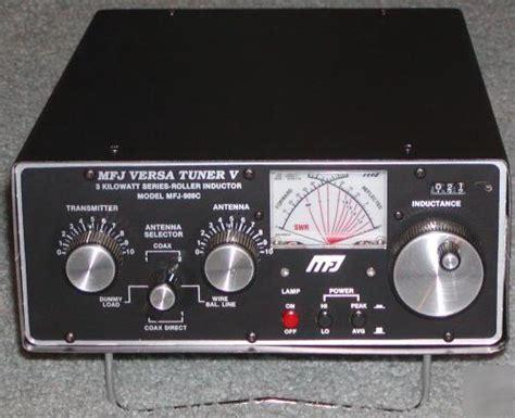 mfj 986 3kw roller inductor tuner roller inductor antenna tuner 28 images mfj 989d 3kw roller inductor antenna tuner mfj 962
