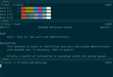 solarized color scheme solarized suckless org st simple terminal