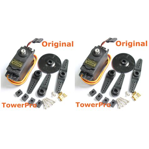 High Speed Mg995 Metal Gear Rc Digital Servo 2pcs lot original towerpro mg995 rc servo motor digital high speed metal gear torque 11kg