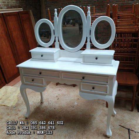 Meja Rias Warna meja rias warna putih duco klasik mebel kayu minimalis