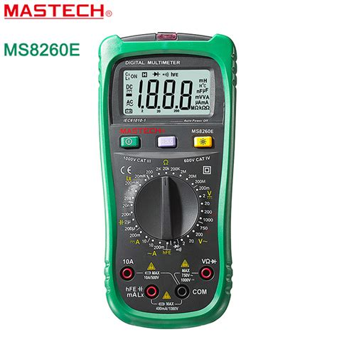 how to check inductor with digital multimeter mastech ms8260e digital multimeter lcr meter ac dc voltage current capacitance inductance tester