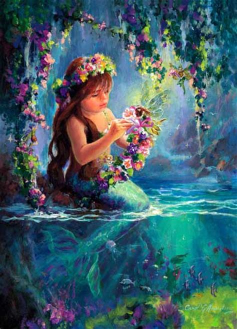 mermaid fairy carol armstrong on pinterest mermaids moonchild and fairies