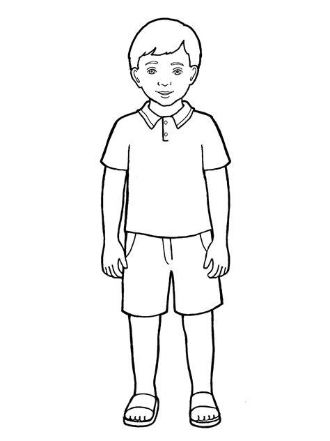 primary boy standing