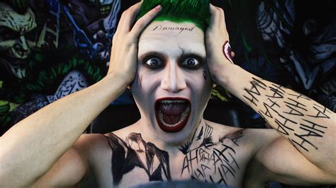 Jared Leto Dons A Tuxedo As The Joker In Squad Iphone jared leto joker makeup tutorial themed injection
