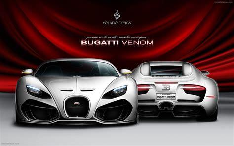 Car Wallpaper Design by Bugatti Venom Concept By Volado Design Widescreen