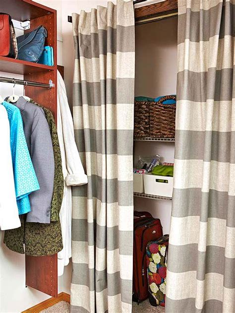 walk in closet curtain 1000 images about bedroom storage on pinterest shoe