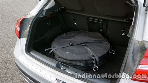 mercedes gla spare tire   review