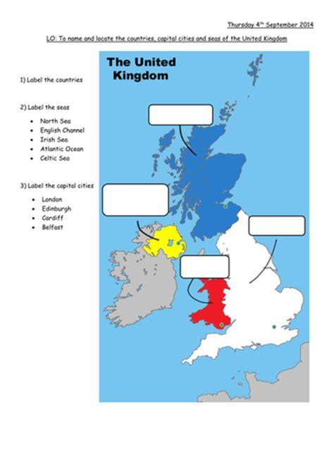 map uk ks1 isles map to label by lisahoward teaching