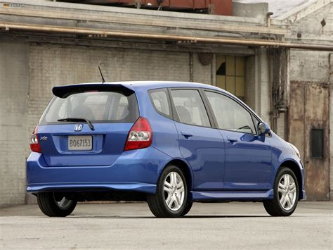 honda fit 2006 specs honda fit sport us spec gd 2006 08 wallpapers 1600x1200