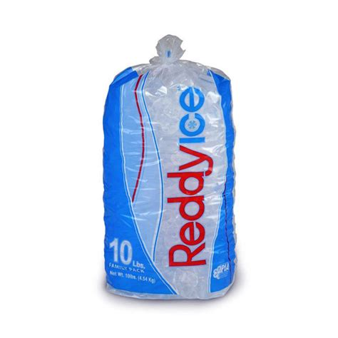 reddy ice ice bag 10 lbs barnsco barnsco