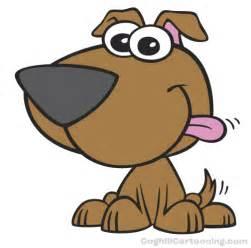 cartoon puppy dog mascot character illustration coghill cartooning preschool dr seuss
