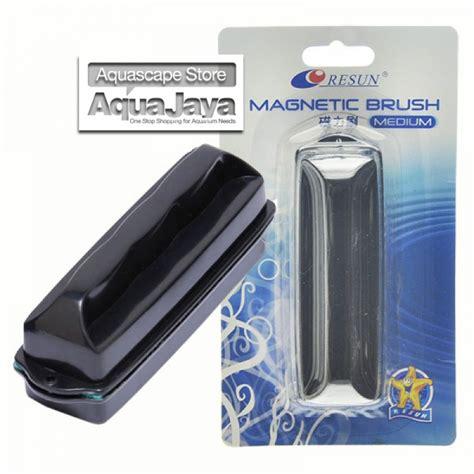Magnet Pembersih Kaca Akuarium Resun Magnetic Brush Medium Sikat Pembersih Kaca