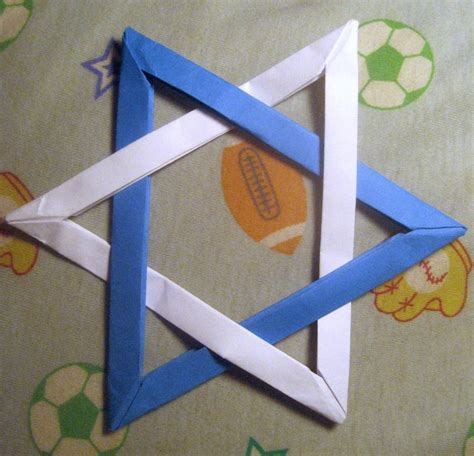 How To Make An Origami Of David - origami of david by musicmixer112 on deviantart