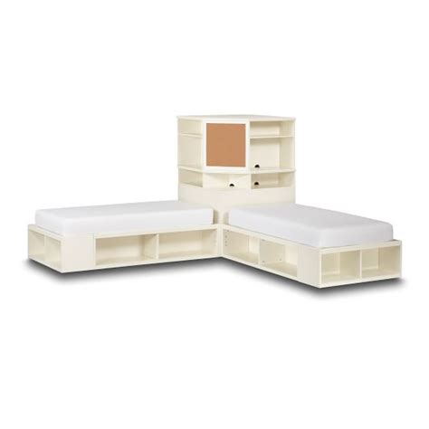 Corner Bed Unit by Store It Corner Unit Pbteen