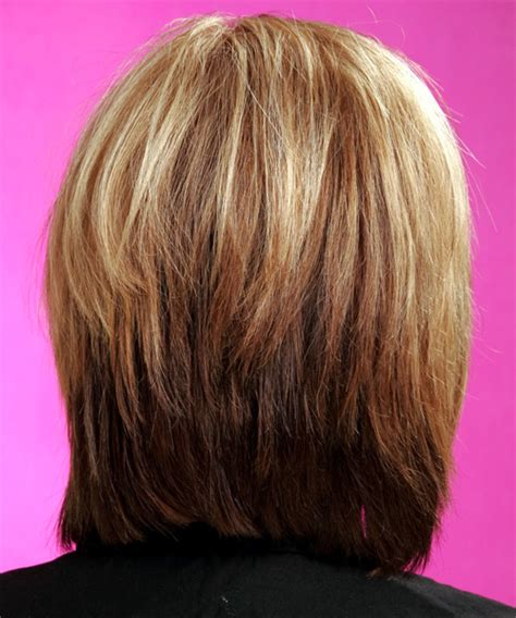 front and back views of medium length hair medium layered bob back view hair styles short hairstyle