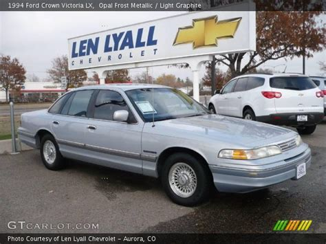 ford opal opal frost metallic 1994 ford crown victoria lx with light