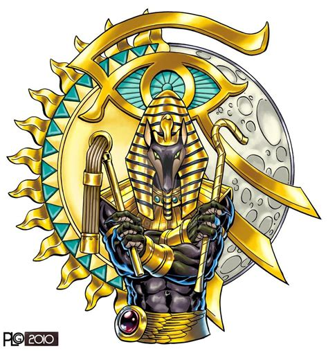 tattoo design colored color anubis design sle