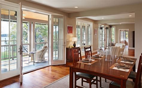 lake house dining room ideas dunham lake house addition remodel