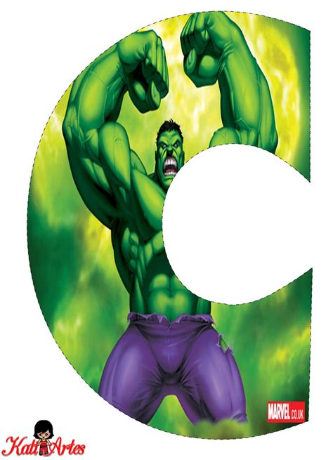 letras decoradas hulk hulk free alphabet alfabeto gratis de hulk hulk en